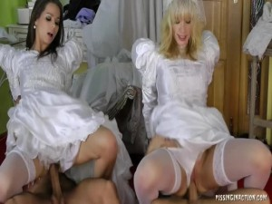 Klarisa Barra Brass Ferrera Gomez Bella Morgan Thirsting For Bridal  Part 2