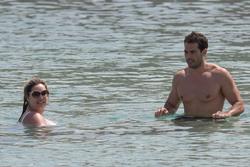 Kelly Brook in White Bikini on the Beach in Mykonos 05/26/2018ee7f0e876418854