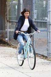 Selena Gomez - Bike riding in LA 3/16/18