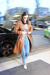 Bella Hadid - Out in Milan 2/22/18