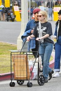 Emma Roberts - Out in Pasadena 1/13/19