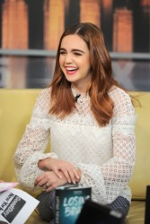 Bailee Madison - 'Good Day New York' morning show in NYC 1/31/18