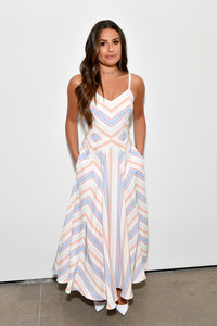 Lea Michele - Noon By Noor Fashion Show in NYC 9/6/18