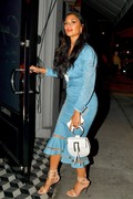 Nicole Scherzinger - Leaving Craig's in West Hollywood 6/21/18