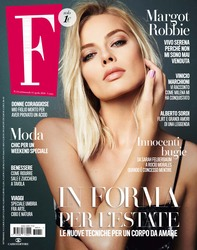 Margot Robbie -                 F Magazine (Italy) April 2018.