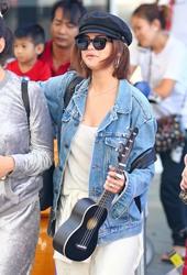 Selena Gomez - Arriving in Sydney 3/19/18