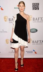 Rosamund Pike - BAFTA Tea Party at Four Seasons Hotel in LA 1/5/19