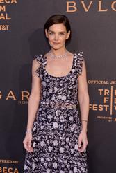Katie Holmes - BVLGARI World Premier Screening At 2018 Tribeca Film Festival 4/26/18
