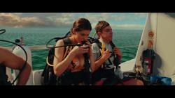 Alexandra Daddario in a Bikini - Deleted Scene From Rampage (2018)