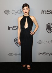 Alexandra Daddario - The 2018 InStyle And Warner Bros. 75th Annual Golden Globe Awards Post-Party in Beverly Hills 1/7/18