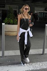 Romee Strijd - Arriving in Nice, France 5/6/18
