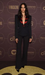 Shanina Shaik - Warner Music Group Pre-Grammy Celebration in NYC 1/25/18