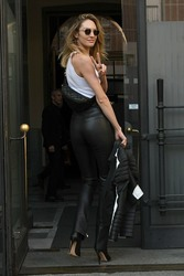 Candice Swanepoel - Out in Milan 2/22/19