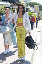 Sara Sampaio - Out in Cannes 5/15/