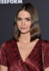 Maia Mitchell - Freeform Summit in LA 1/18/18