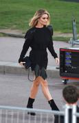 Rosie Huntington-Whiteley - Saint Laurent Fashion Show in Paris 9/25/18