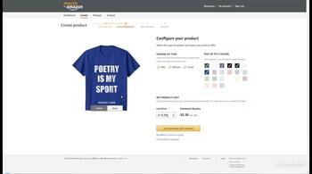 Merch by Amazon - создаем прибыльный бизнес на футболках (2018) Видеокурс
