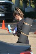 Alessandra Ambrosio - Leaving the gym in Malibu 6/8/18