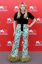 Chloe Grace Moretz - 'Suspiria' Photocall during the 75th Venice Film Festival 9/1/18