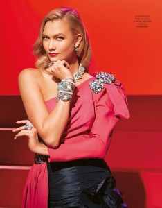 Karlie Kloss -                     	Grazia Magazine (Italy) November 30th 2017.