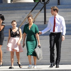 Jessica Alba - On the set of 'LA's Finest' 10/4/18