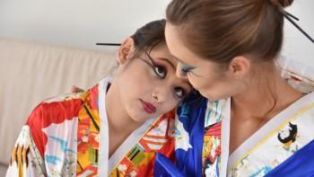 Alex De La Flor & Christy Love - Memoirs Of A Gushing Geisha 720p