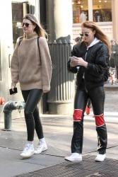 Sophie Turner - Out shopping in Soho - December 1, 2017