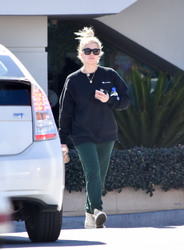 Ashley Benson - Out in LA 3/5/18