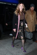 Sarah Jessica Parker - Arrives For 'Good Morning America' In NYC (1/19/18)