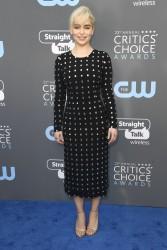 Emilia Clarke - The 23rd Annual Critics' Choice Awards in Santa Monica 1/11/18
