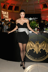 Adriana Lima - BACARDI x The Dean Collection Present No Commission in Miami 12/6/18