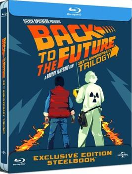 Ritorno al futuro Trilogia 25° Anniversario (1985-1990) [3 Blu-Ray] Full Blu-Ray VC-1 124Gb ITA DTS 5.1 ENG DTS-HD MA 5.1 MULTI