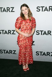 Emily Browning - STARZ TCA Red Carpet Event in LA 2/12/19