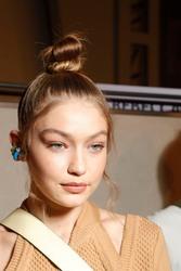 Gigi Hadid - Fendi Fashion Show in Milan 9/20/18