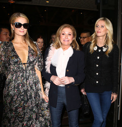 Paris, Nicky & Kathy Hilton - Out for dinner in Hollywood 3/21/18