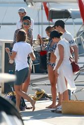Rita Ora - Bikini candids in Barcelona 7/19/18