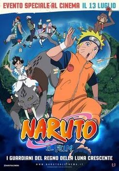 Naruto Il film - I Guardiani del Regno della Luna Crescente (2006) DVD9