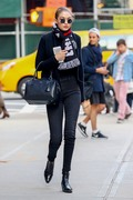 Gigi Hadid - Out in NYC 4/11/18
