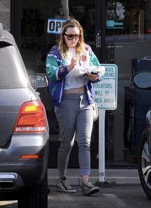 Amanda Bynes - Getting lunch in LA 11/15/18