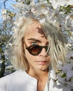 "Cara Delevingne -            Burberry ""Her Blossom"" Fragrance 2019."