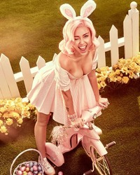 Miley Cyrus - Easter Themed Photoshoot By Vijat Mohindra - March 2018