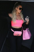 Khloe Kardashian - Leaving a studio in LA 9/10/18