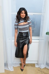 Priyanka Chopra  -        Booking.Com Kicks off its ''Book the U.S.'' List March 7th 2018.