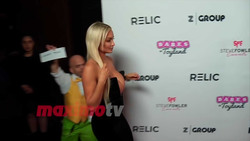 Lindsey Pelas - Red Carpet Video From The 4th Annual 'Babes In Toyland' Pet Gala in Hollywood, California - 3/21/18