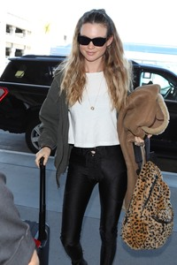 Behati Prinsloo - At LAX Airport 11/12/18