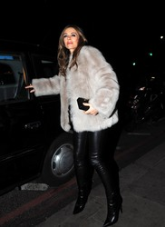 Elizabeth Hurley - Out in London 2/26/19