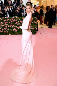 Hailey Baldwin  -                  2019 Met Gala Celebrating Camp: Notes on Fashion New York City May 6th 2019.