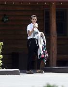 Selena Gomez - Leaving a cabin in Fleischmanns, NY 7/12/18