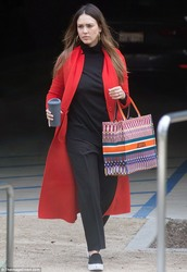 Jessica Alba - Going to a meeting in LA 3/1/18
