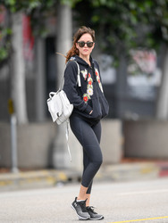 Dakota Johnson - Leaving yoga class in Studio City 2/5/19